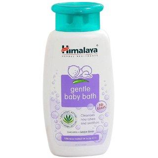 Himalaya Herbals Gentle Baby Bath 200 ml x Pack of 4