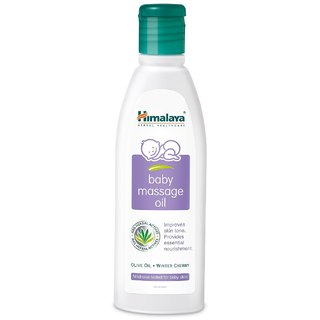 Himalaya Herbals Baby Massage Oil 200 ml x Pack of 4