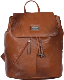 Zifana Brown Women'S Leather Sack Bags For Modern Trend