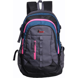 F Gear 40-50 L Polyester Navy & Pink Rucksacks