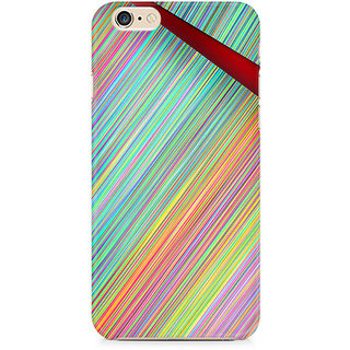 CopyCatz Broken Abstract Lines Premium Printed Case For Apple iPhone 6/6s