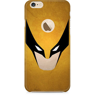 CopyCatz Wolverine Minimalist Premium Printed Case For Apple iPhone 6/6s with hole