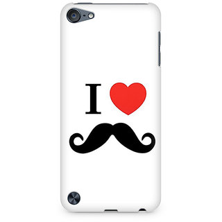 CopyCatz I Love Beards Premium Printed Case For Apple iPod Touch 5