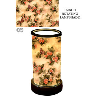 Lamp House Red Poly Cotton Floor Lamp - PM20704