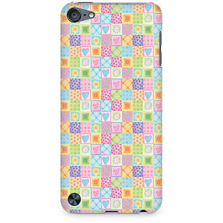 CopyCatz Abtract Heart Fusion Premium Printed Case For Apple iPod Touch 5