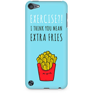CopyCatz Extra fries Premium Printed Case For Apple iPod Touch 6
