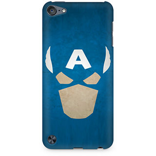 CopyCatz Captain America The Great Defender Premium Printed Case For Apple iPod Touch 6