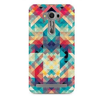 CopyCatz Abstract Criss Cross Premium Printed Case For Asus Zenfone 2 Laser ZE500