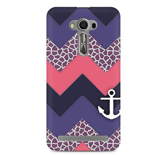 CopyCatz Chevron Anchored Premium Printed Case For Asus Zenfone 2 Laser ZE550KL