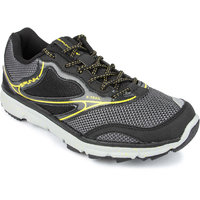 Spunk Paradox Men's Black And Yellow Running Shoes