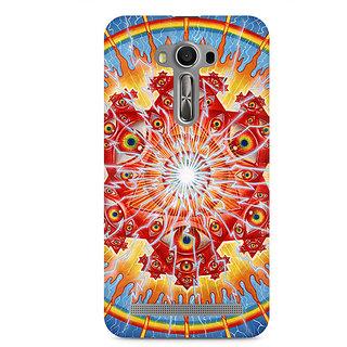 CopyCatz Psychedelic Eyes Premium Printed Case For Asus Zenfone 2 Laser ZE550KL