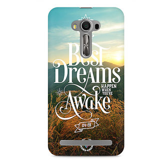CopyCatz The Best Dreams Premium Printed Case For Asus Zenfone 2 Laser ZE550KL