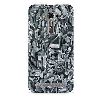 CopyCatz Abstract Texture Premium Printed Case For Asus Zenfone 2 Laser ZE550KL