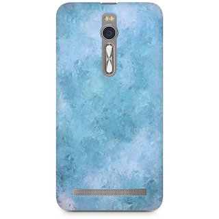 CopyCatz Blue Abstract Flourish Premium Printed Case For Asus Zenfone 2