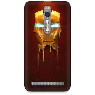 CopyCatz Melting Iron Man Premium Printed Case For Asus Zenfone 2