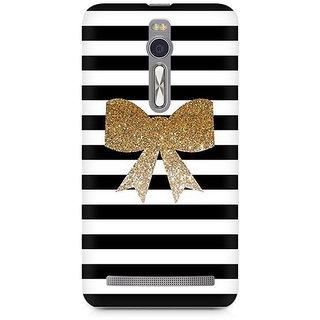 CopyCatz Golden Bow Premium Printed Case For Asus Zenfone 2
