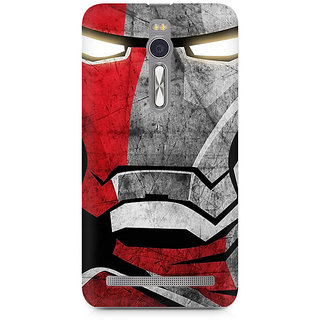 CopyCatz Red Soldier Premium Printed Case For Asus Zenfone 2