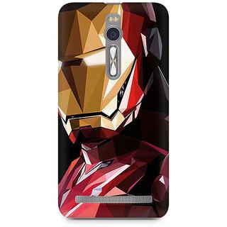 CopyCatz Iron Man Abstract Premium Printed Case For Asus Zenfone 2