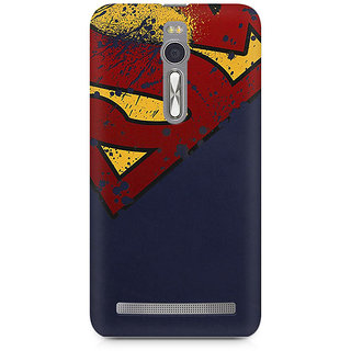 CopyCatz Superman Premium Printed Case For Asus Zenfone 2