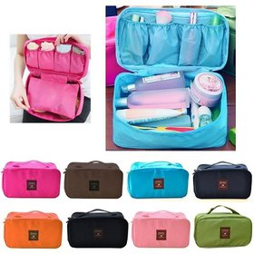 Unique Cartz Undergarments And Innerwear Storage Bag Travel Organiser - Random Color