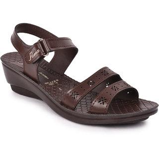 Action Shoes Florina Women's Brown Sandals