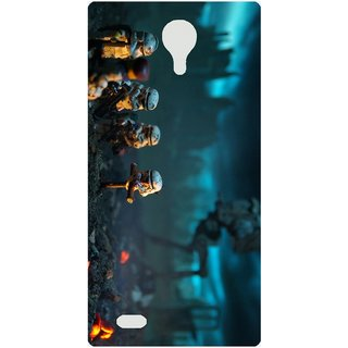 Amagav Back Case Cover for Micromax Unite 3 Q372