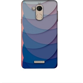 Casotec Waves Pattern Print Design 3D Printed Hard Back Case Cover for Coolpad Note 5