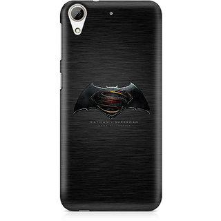 CopyCatz Batman vs Superman Logo Premium Printed Case For HTC 626