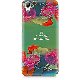 CopyCatz Be Always Blooming Premium Printed Case For HTC 626