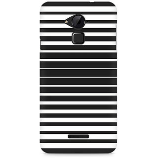 CopyCatz Black and White Stripes Premium Printed Case For Coolpad Note 3