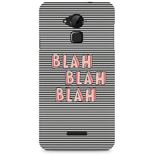 CopyCatz Blah Blah Classy Premium Printed Case For Coolpad Note 3