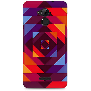 CopyCatz Concentric Squares Premium Printed Case For Coolpad Note 3
