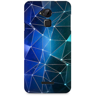 CopyCatz Connected Triangles Premium Printed Case For Coolpad Note 3