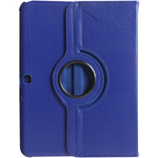 e9a5664156e Buy Gizmobitz Rotation Case Cover for Samsung Galaxy Tab 4 10.1  T530/T531/T535 - Dark Blue Online - Get 46% Off