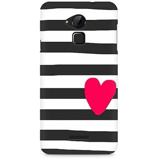 CopyCatz Cute Heart On Zebra Print Premium Printed Case For Coolpad Note 3