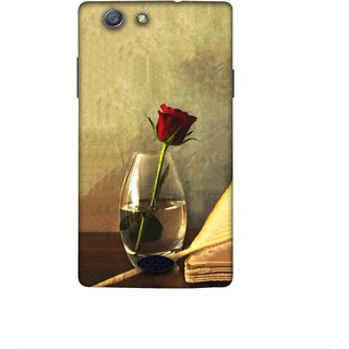 Casotec Rose Red Design 3D Printed Hard Back Case Cover for Oppo Neo 5 (2015)