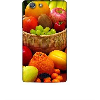 Casotec Fruit Basket Design 3D Printed Hard Back Case Cover for Oppo Neo 5 (2015)