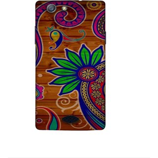 Casotec Pattern Texture Colorful Background Design 3D Printed Hard Back Case Cover for Oppo Neo 5 (2015)