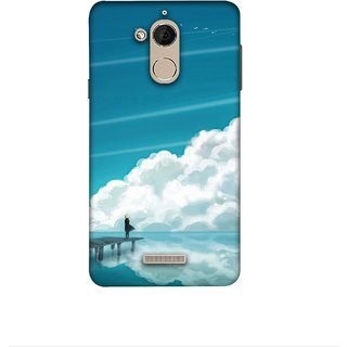 Casotec Clouds Pattern Print Design 3D Printed Hard Back Case Cover for Coolpad Note 5