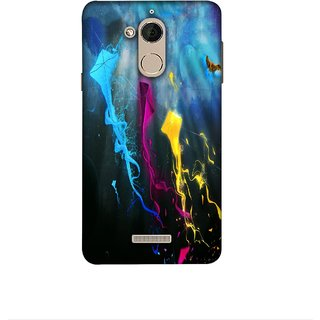 Casotec Kites Design 3D Printed Hard Back Case Cover for Coolpad Note 5