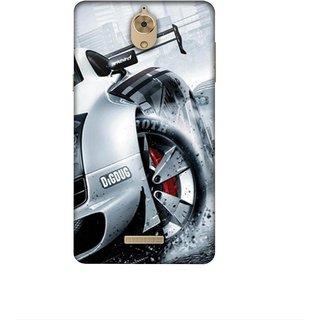 Casotec Drift Sport Print Design 3D Printed Hard Back Case Cover for Coolpad Mega 2.5D