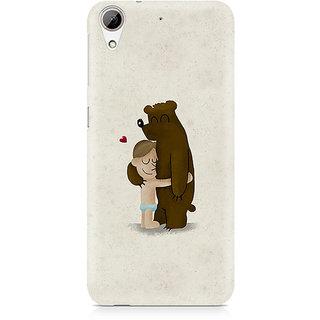 CopyCatz Bear Hug Premium Printed Case For HTC 626