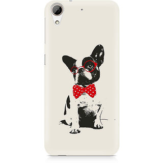 CopyCatz Bowtie Pup Premium Printed Case For HTC 626