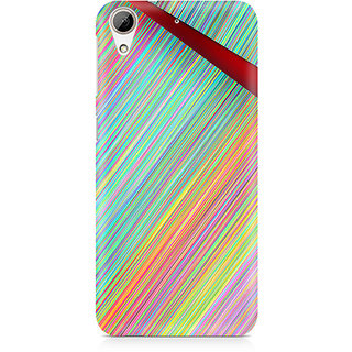 CopyCatz Broken Abstract Lines Premium Printed Case For HTC 626