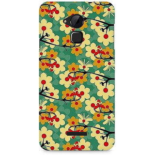 CopyCatz Flower Pattern Premium Printed Case For Coolpad Note 3