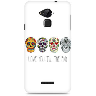 CopyCatz Love till the end Premium Printed Case For Coolpad Note 3