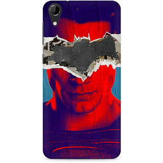 CopyCatz Superman with Batman Logo Premium Printed Case For HTC Desire 728