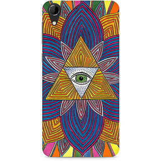 CopyCatz The Eye Premium Printed Case For HTC Desire 728