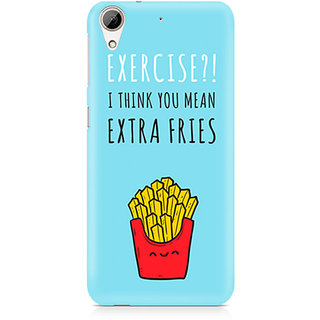 CopyCatz Extra fries Premium Printed Case For HTC 626