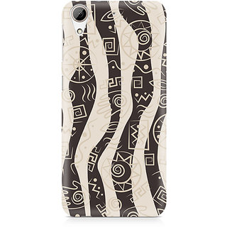 CopyCatz Abstract Tribal Wave Premium Printed Case For HTC 626